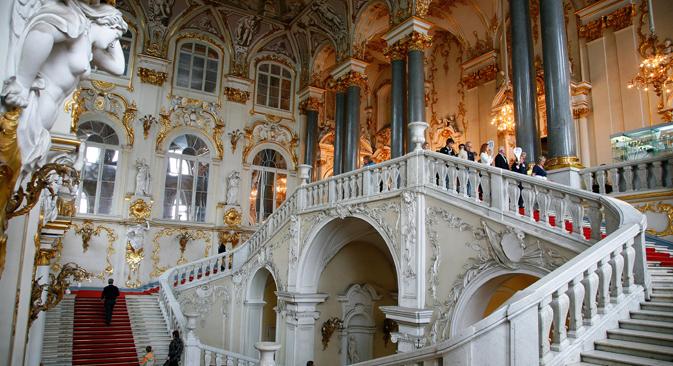 Jordan's Staircase Hermitage Museum St. Petersburg