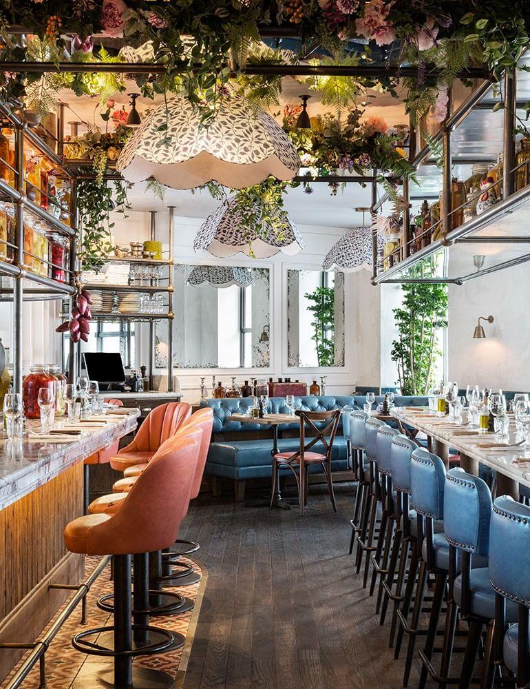 Restaurant Plants & Greenery